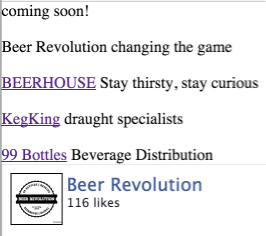 Old BeerRevolution.co.za Screenshot